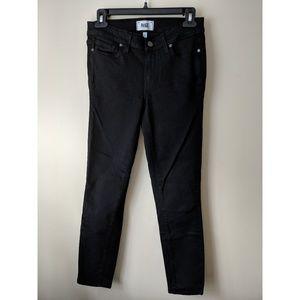 PAIGE Black Jeans - Size 27